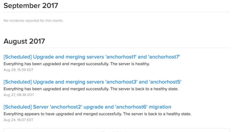 Consolidating WP Engine Servers