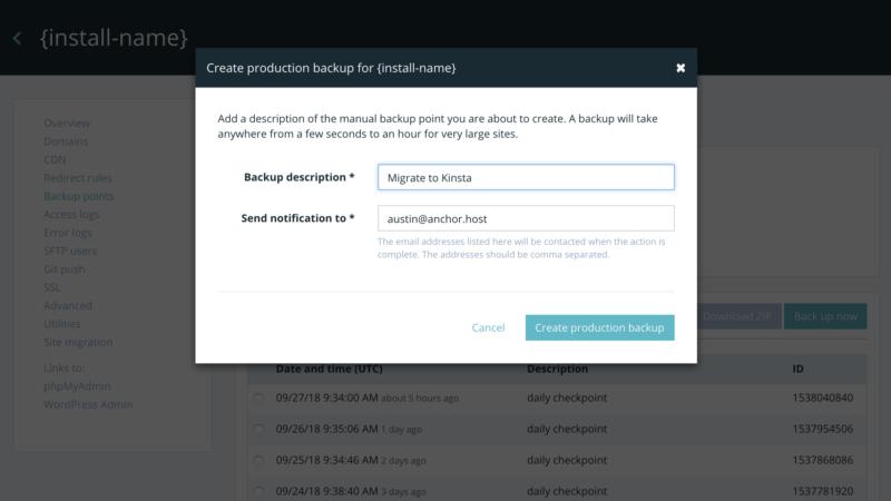 WP Engine to Kinsta Bulk Migration Tips