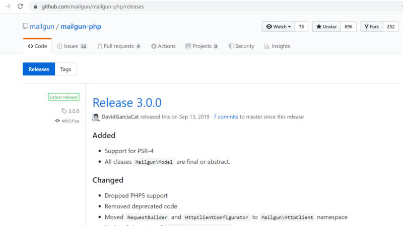 Digging into Mailgun's API with PHP